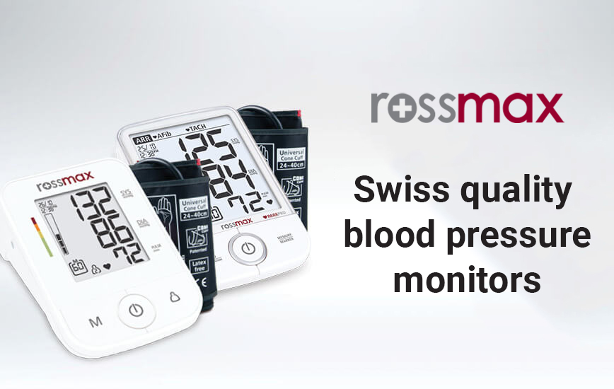Rossmax blood pressure monitors