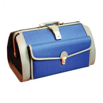 Liječnička torba Pearl | plavo-siva