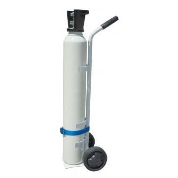 Kolica za bocu za kisik od 3, 5 ili 10L