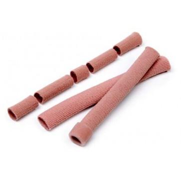 Gelirana mrežasta tkanina u obliku tube za zaštitu nožnih prstiju, uska, širina 20mm, dužina 158 mm