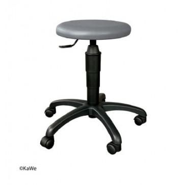 Stolac na okretanje s okruglim sjedalom KaWe | Sivi