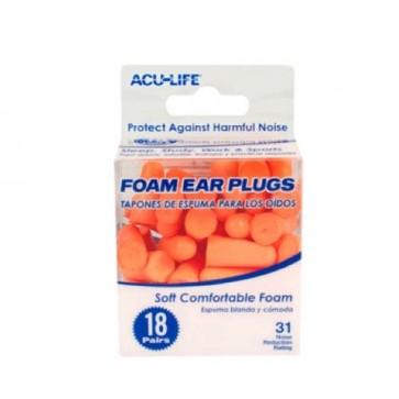 Čepovi za uši protiv buke - 18 pari