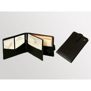 Bollmann etui za recepte, 25x17,5 cm, koža, crni (rok isporuke 20 dana)