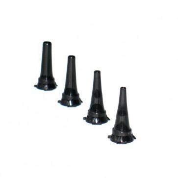 Spekulum za uho fi 4mm-višekratni, crni