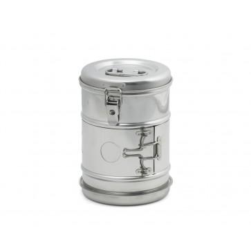 Bubanj za sterilizaciju, inox, 150 × 190 mm