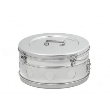 Bubanj za sterilizaciju, inox, 340 × 165 mm