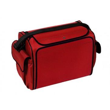 Bollmann torba za kućnu njegu Care Case, poliester, crvena