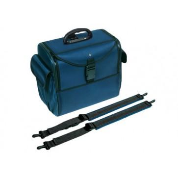 Bollmann torba / ruksak za liječnika Alternative, s naramenicama,  spužvasti poliester, plava