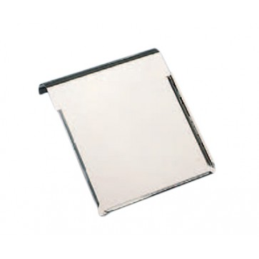 Držač temperaturne liste za bolnički krevet, inox, A3, 43x32 cm