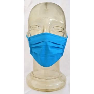 Dječja pamučna maska za lice | plava | 10 kom