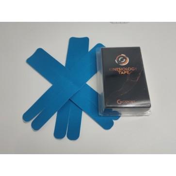 Kineziološke trake | unaprijed profesionalno izrezane | oblik Y - 4 komada | plave