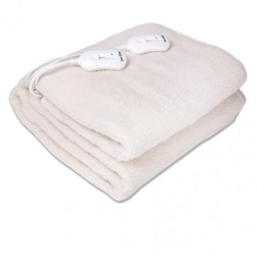 Grijaća deka dvostruka, od umjetne vune, 160×140 cm