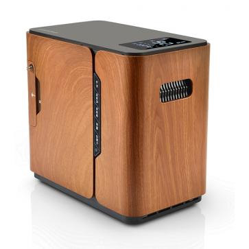 Koncentrator kisika, boja drva
