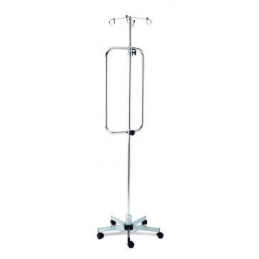 Snažni stalak za infuziju na kotačićima Titanox
