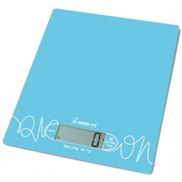 Digitalna kuhinjska vaga kapaciteta 5kg i preciznosti 1g, u tirkiznoj boji