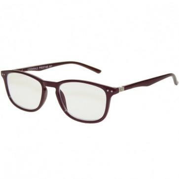 Uniseks naočale za čitanje Prestige bordo boje u dioptrijama +1, +1.50, +2, +2.50, +3 i +3.50