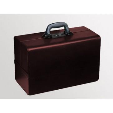 "Bollmann kofer za liječnika ""Concertina"", 43x21x27cm, umj. koža, bordo"