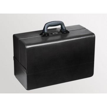 "Bollmann kofer za liječnika ""Concertina"", 43x21x32cm koža, crna"