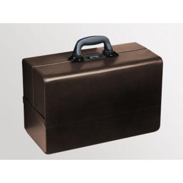 "Bollmann kofer za liječnika ""Concertina"", 43x21x32cm, umj. koža, smeđa"