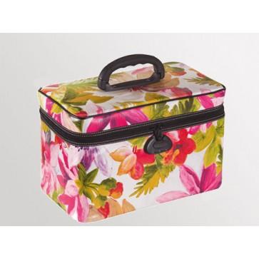 "Bollmann torba za liječnika ""Easycare"", koža s cvjetnim uzorkom"