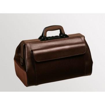"""Bollmann liječnička torba """"Medi-Light"""", 1 prednji džep, smeđa, koža"""
