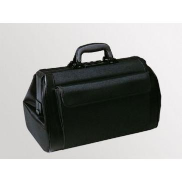 """Bollmann liječnička torba """"Medi-Light"""", 2 prednja džepa, crna, koža"""