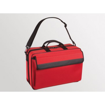 "Bollmann torba za liječnika ""Medicare XL"", spužvasti poliester, crvena"