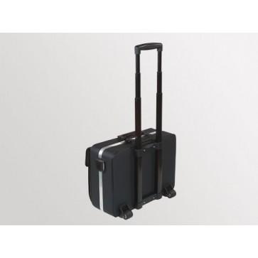 """Bollmann liječnička torba """"Nova"""", crna, koža, s ručkom za guranje (Rok isporuke 20 dana)"""