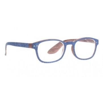 Naočale za čitanje Jeans u dioptrijama od 1.00 do 3.50 i bojama plavog jeansa i drveta