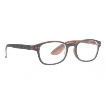 Naočale za čitanje Jeans u dioptrijama od 1.00 do 3.50 i bojama tamno sivog jeansa i drveta