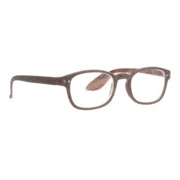 Naočale za čitanje Jeans u dioptrijama od 1.00 do 3.50 i bojama tamno smeđeg jeansa i drveta