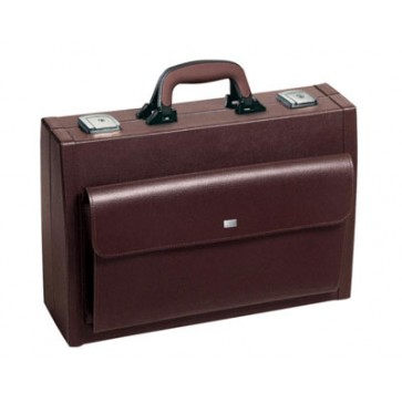 "Bollmann liječnički kofer ""Piccola"", 41x13x28 cm, koža, bordo (Rok isporuke 20 dana)"
