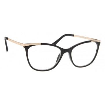 Brilo RE010 naočale za čitanje   Crno-zlatne   +2,0