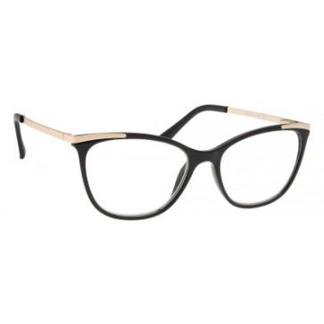 Brilo RE010 naočale za čitanje   Crno-zlatne   +2,5