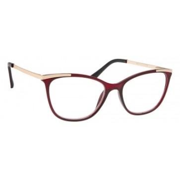 Brilo RE010 naočale za čitanje   Bordo-zlatne   +3,0