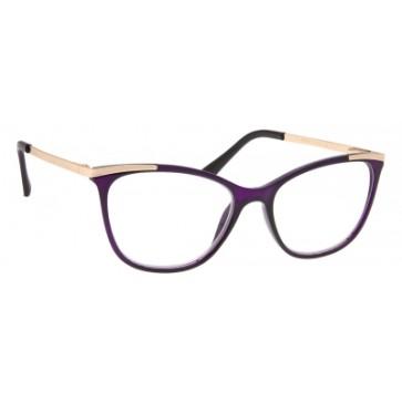 Brilo RE010 naočale za čitanje   Ljubičasto-zlatne   +3,0