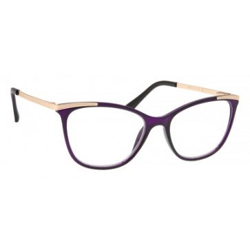 Brilo RE010 naočale za čitanje   Ljubičasto-zlatne   +3,5