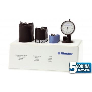 Tlakomjer R1 Shock-proof set, Riester, tri manžete S, M, L sa stalkom