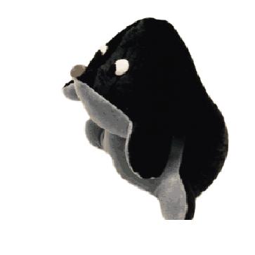 Terapijske životinjice punjene pirom, mala Krtica