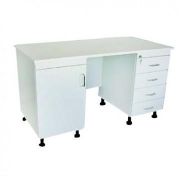 Uredski stol za liječnike, bijele boje