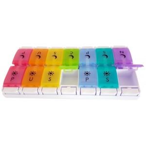 Organizator lijekova u boji | 7 x 2