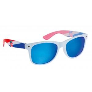 Sunčane naočale s hrvatskom zastavom - bijele