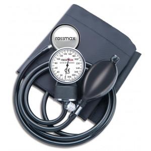 Rossmax klasični tlakomjer s manometrom i stetoskopom GB 102. Mjerenje zahtjeva 2 ruke.