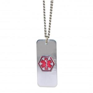 Ogrlica za medicinsku identifikaciju
