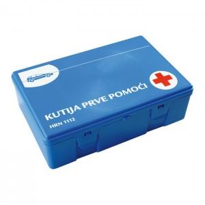 Kutija za prvu pomoć za auto, puna