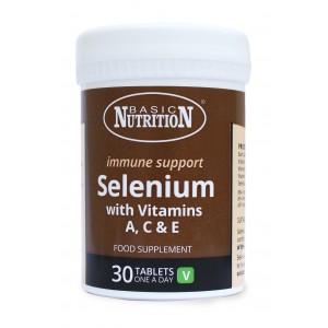 Selenij 200 μg + Vitamini A, C i E