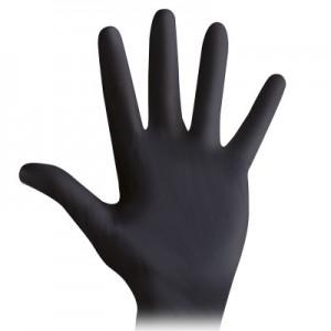 Nitrilne rukavice bez pudera - 100 komada | Biosoft BLACK