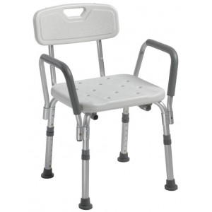 Stolica za tuširanje s naslonom i rukohvatima RS839