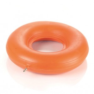 Gumeni jastuk za hemeroide na napuhavanje u obliku prstena