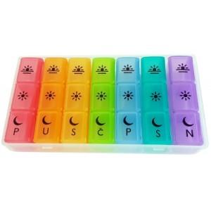 Organizator lijekova u boji | 7 x 3